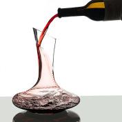 Wine Decanter, EraVino Premium Wine Decanter - Mouth Blown Crystal Glass Wine Decanter