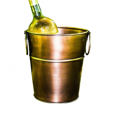 BREKX Bronze Galvanised Wine & Champagne Luxury Ice Bucket
