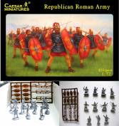 41 REPUBLICAN ROMAN ARMY MINIATURE TOY HOBBY FIGURES 1:72 SCALE