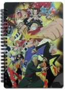 Notebook - One Piece - New New World Group Spiral Toys Licenced ge43126