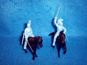 Napoleonic French Dragoon Cavalry 4 Figures in 4 Poses with 4 Horses By Classic Toy Soldiers, Inc