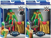 **PACKAGE DEAL** LOS MATADORES (DIEGO & FERNANDO) - WWE ELITE 35 MATTEL TOY WRESTLING ACTION FIGURES