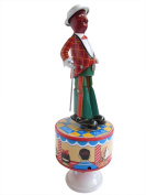 Wind Up collectible Tin toy Tap Dancer