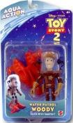 Toy Story 2 Aqua Action : Water Patrol Woody Figure