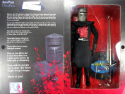 JOHN CLEESE AS THE BLACK KNIGHT 30cm Monty Python and the Holy Grail 2002 Sideshow Toy Collectible Action Figure
