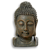 Buddha Bust, Museum Quality Reproduction, 26cm Tall, the Serenity Collection, Whole House Worlds