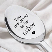 You're Going To Be A Daddy Spoon- Pregnancy Reveal Spoon- Fun Announcement Ideas-Husband Gift Idea-Dads Gift