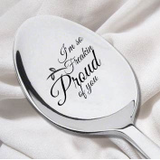 I'm So Freakin' Proud Of You – Engraved Spoon- Graduation Gift-College graduation Support Inspiration Christmas Gift