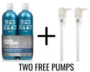 Tigi Bed Head Urban Antidotes Recovery Tween 750 ml Shampoo & Conditioner with FREE PUMPS