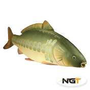 NGT Carp Fishing Fish Shaped Pillow Cushion Or Toy Great Gift Idea 70cm Long