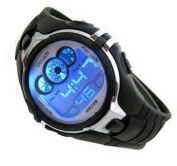 Digital Boys Sports Watch Date Alarm Stopwatch with 6 Colour Backlights