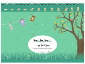 Babylogbook - My First Year - Colour Mix - incl. sticker set/Baby Diary Calendar