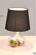 YFF@ILU The Contemporary bedrooms bedside lamp glass minimalist creative living room study LED fabrics, sect. C.