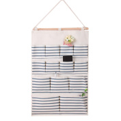 Laixing Multi-layer Wall Hanging Storage Bag Organiser Home Garden Yard Decoration G13-2
