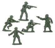 Fun Express Mini Green Toy Soldiers U.S. Army Men Play War Boys Toys