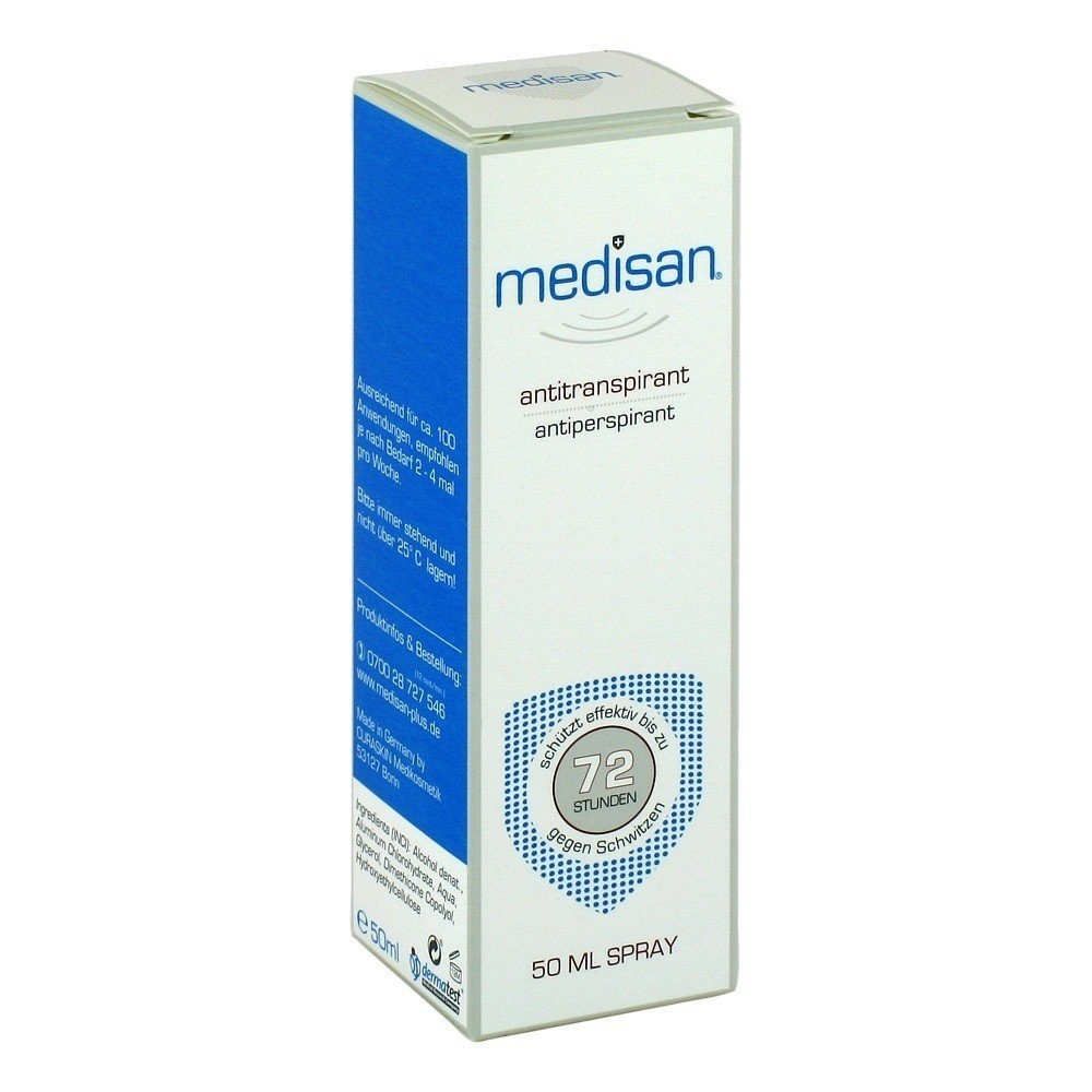 fc8ee8d3c4d7 Medisan Plus Antiperspirant - Deodorant Spray 50 ml