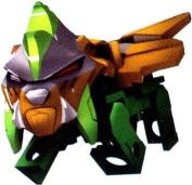 Tenkai Knights LOOSE Minifigure Kindoh QUADRAX