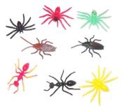 Critter Corner Set of 8 Plastic Creatures ~ Bugs