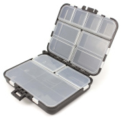 VANKER 1Pc Waterproof Eco-Friendly Fishing Tool Lure Bait Tackle Storage Box Case Container
