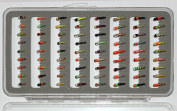 Fly Box 72 Buzzer Trout Flies LUMMIES Hook 8 to 16 OR SIZE 12