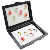 Fly Fishing Boxes with Foam Insert Small