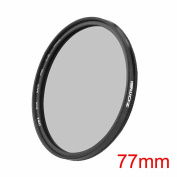ZOMEI Ultra Slim AGC Optical Glass PRO CPL Circular Polarising Polarizer Lens Filter - 77mm + WINGONEER Diffuser