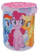 Fun House 712528 My Little Pony Pop Up Laundry Basket Polyester Pink 38 x 38 x 50 cm