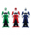 Power Rangers Super Megaforce - Lost Galaxy Legendary Ranger Key Pack, Red/Blue/Green