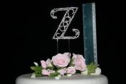 Diamante Letters on Double Pick, Large Z, Birthday, Celebration Cakes