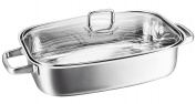 Kopf 125426 Hekla roasting pan, induction, 36 x 24 cm, 6.2 litres, stainless steel