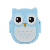 OverDose Home & Kitchen Owl Plastic Lunch Box Food Container For Kids