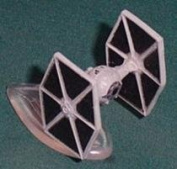 TIE Starfighter - Micro Machines Space Star Wars 65961 by Lewis Galoob Toys, Inc.