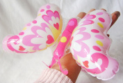 Henbrandt New Inflatable Butterfly Toy On Wrist Band Bracelet Hb