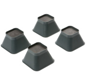 Drive Medical 9cm Stackable Chair Raisers - Strong & Easy to Fit