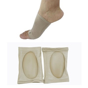 Vinmax 1 Pair Orthotic Arch Support Plantar Fasciitis Brace Sleeves Arch Supports for Relieving Pain