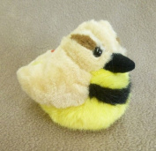 Stuffed Western Meadowlark with Sound Audubon Birds Series 18cm from beak to tail - F1891 B361