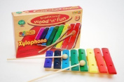 Kids Children Colourful Wooden Traditional Xylophone Musical Toy