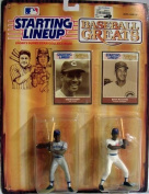 STARTING LINEUP BASEBALL GREATS ERNIE BANKS AND BILLY WILLIAMS