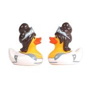 Bud Duck ~ Mini Collectible Deluxe Rubber Duck ~ BRIDE & BRIDE