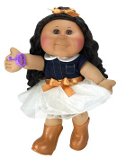 Cabbage Patch Kids 36cm Kid, Tan Brunette Girl Doll (Cowgirl Fashion) by Cabbage Patch Kids