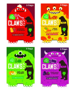 BEAR Nibbles CLAWS Pure Fruit Shapes Selection 4 x 5 x 20g