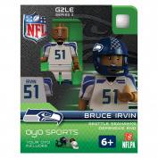 Bruce Irvin OYO NFL Seattle Seahawks G2 Series 2 Mini Figure Limited Edition