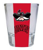 UNLV Rebels Round Shot Glass