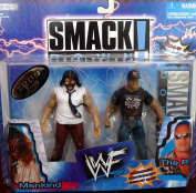MANKIND vs. the ROCK WWE WWF Exclusive Smackdown 2packs Figures by Jakks Pacific