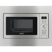 Zanussi ZSC25259XA Built-in inclusive frame Microwave Oven in Stainless Steel with antifingerprint coating