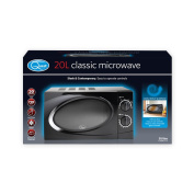 Quest 35860 Benross Classic Dial Microwave, 20 Litre, 700 W, Black