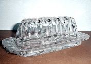 Gorham Lady Anne Covered Butter Dish New In Box