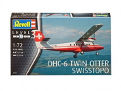 03954 1/72 DHC-6 Twin Otter Swisstopo by Revell of Germany