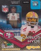 Carlos Hyde NFL OYO San Francisco 49ers Generation 3 Series 1 G3 Mini Figure