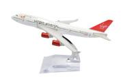 1:400 16cm Boeing B747-400 Virgin Atlantic Metal Aeroplane Model Plane Toy Plane Model